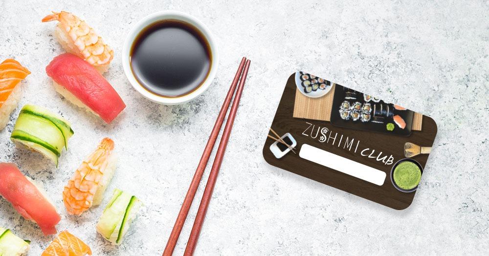 zushimi club card