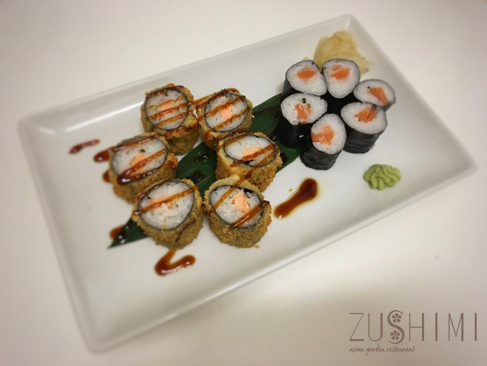 zushimi hosomaki salmone fritto