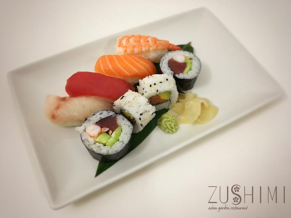 zushimi nigiri maki mix