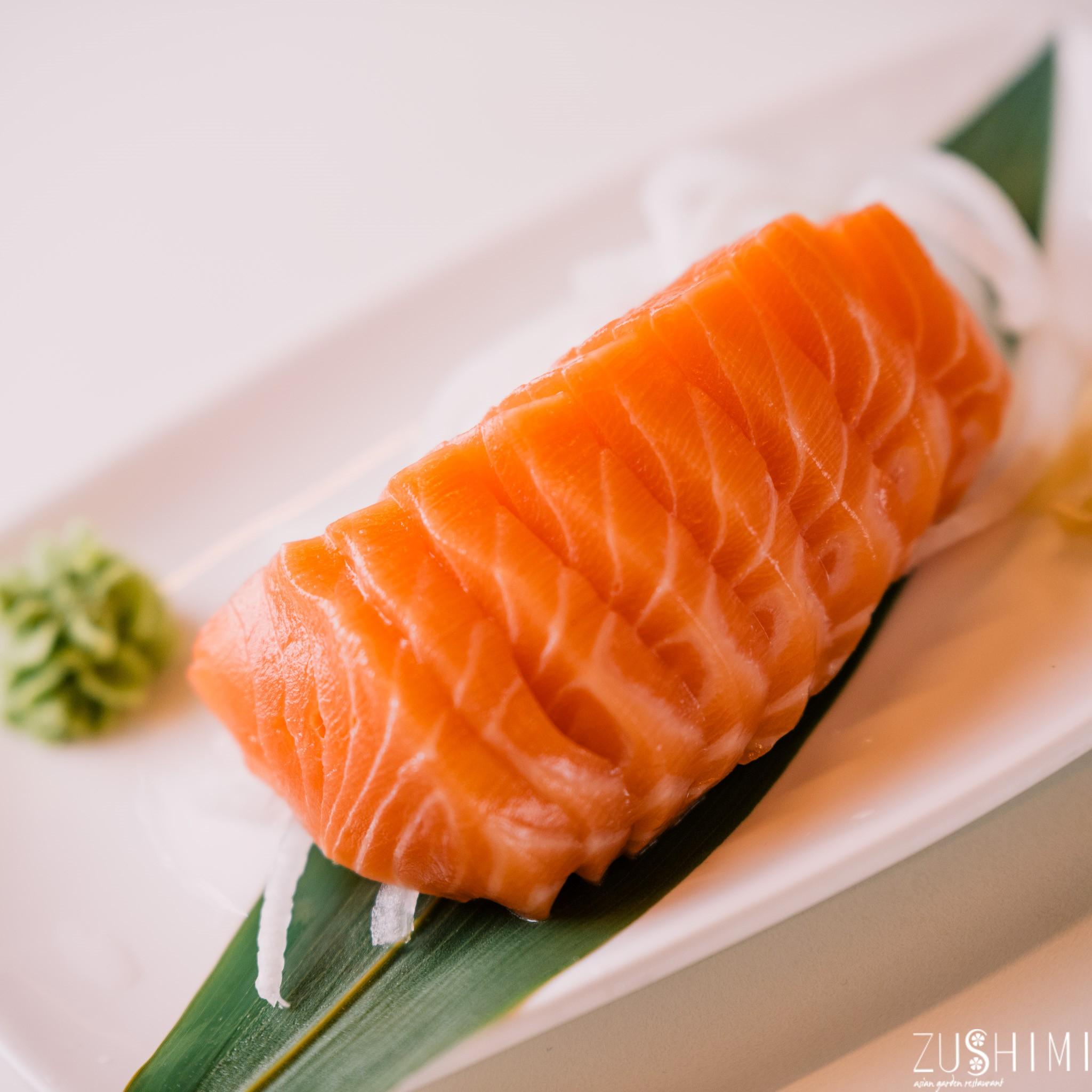 zushimi sashimi salmone