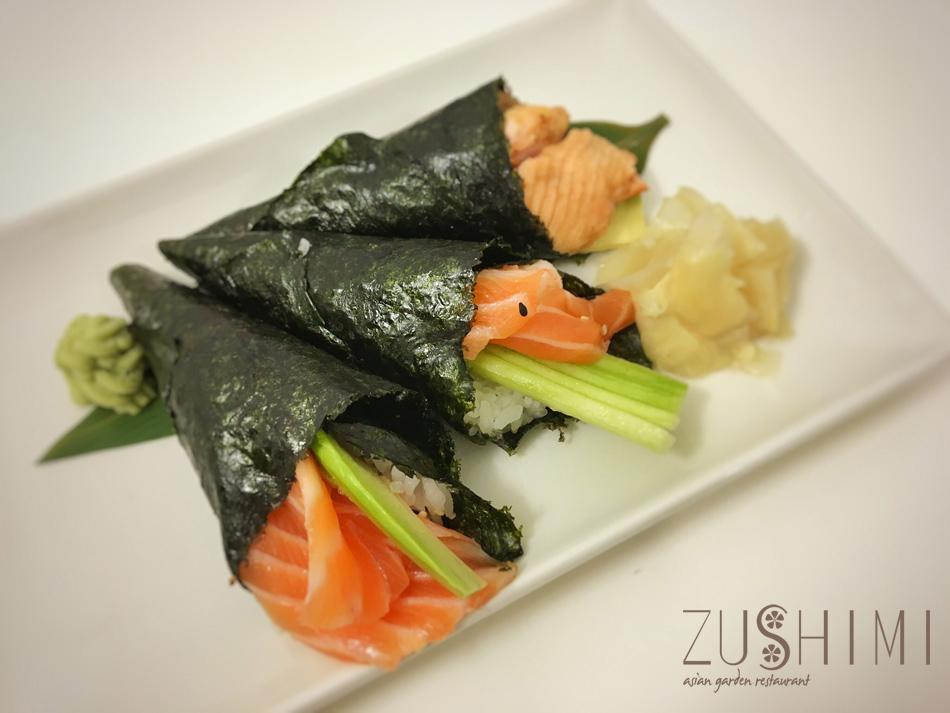 zushimi temaki salmone